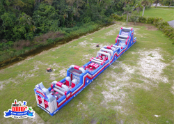 patriotchallenge obstaclecourse palmbeachcounty martincounty partyrental waterslide 1632168779 NEW 100' Patriot Challenge Obstacle Course