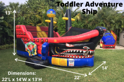 toddler adventure ship 156884666 Toddler Adventure Ship *(22L 14W 13H)