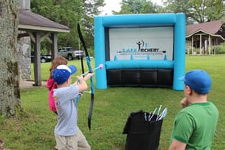 Inflatable Archery (Foam Tipped Arrows)