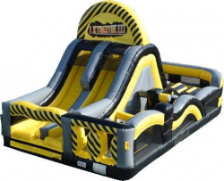 Xtreme Rush Obstacle Course (Caution Colors)