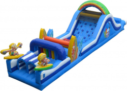 48ft Surf's Up Obstacle Course (Dry)