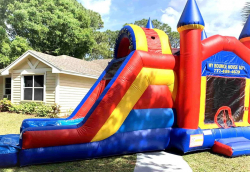 Bounce N Dip Castle Combo (Wet or Dry)