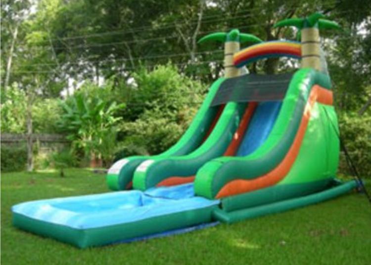 the best water slide rental Palm City, FL