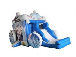 Frozen Carriage Bounce n Slide