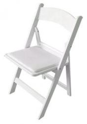 Chairs White Padded