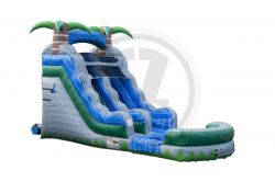 15' Cascade Palms Water Slide