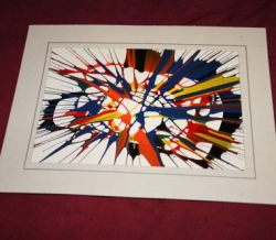 SpinArt Cards & Frames