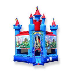 Brave Knight Castle Bounce