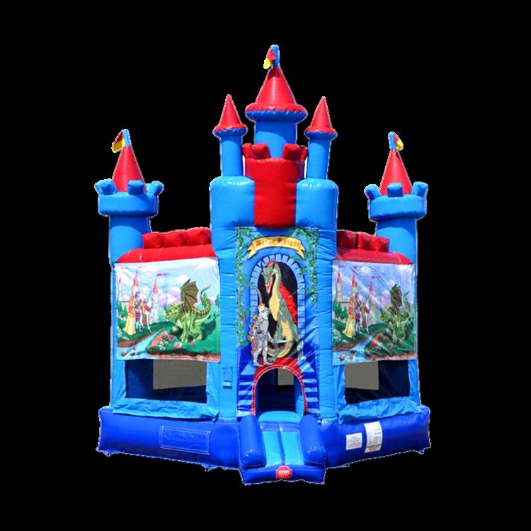 Brave Knight Castle Bounce