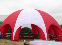 Inflatable Canopy Red