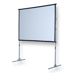 Projector Screen 12' w/ projector