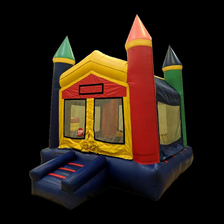 Rainbow Castle Bounce