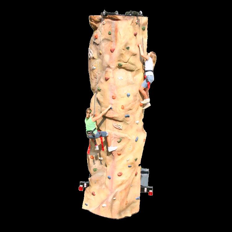Rock Wall 2-Climber