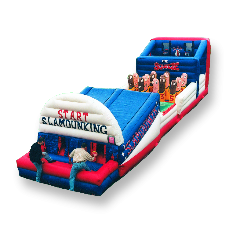 43' Slam Dunk Obstacle Course