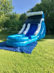 Blue Wave Dry Slide