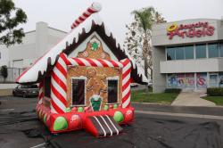 Ginger Bread Christmas Bounce House