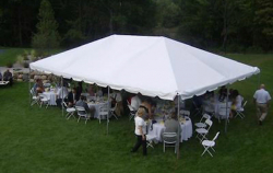 20 X 30 White Top Tent
