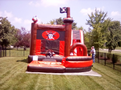 The Pirate Jump N Splash Pool