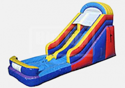 16 ft Slide with pool $250 Wet
