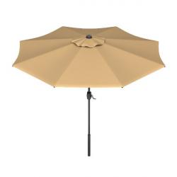 Tan 9' Market Umbrella