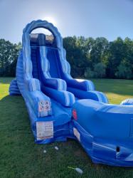 18' Blue Marble Wet or Dry Slide