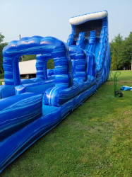 22' Blue Wave Dual Lane with Slip N Slide