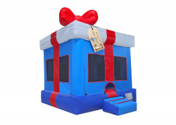 Gift Box Blue nowm 0 1613419733 Blue Gift Box Moon Bounce