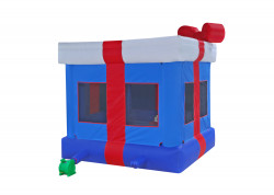 Gift Box Blue nowm 2 1613419733 Blue Gift Box Moon Bounce