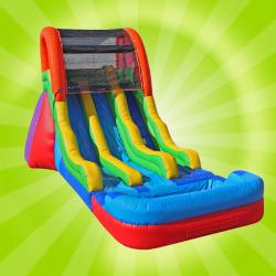 17' Fun Dual Slide (Wet)