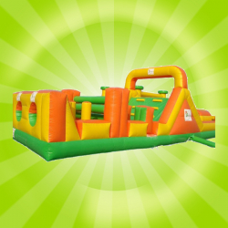 40' Green Obstacle Course