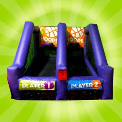 Dual Hoops Basketball Game