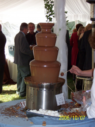 Large Chocolate Fountain