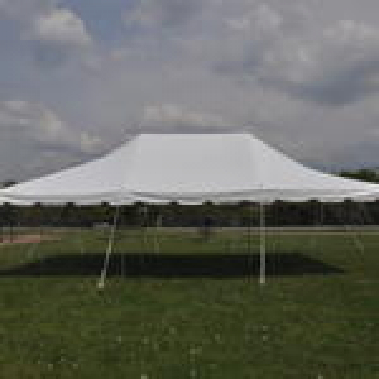 20 x 30 pole tent for customer pick up