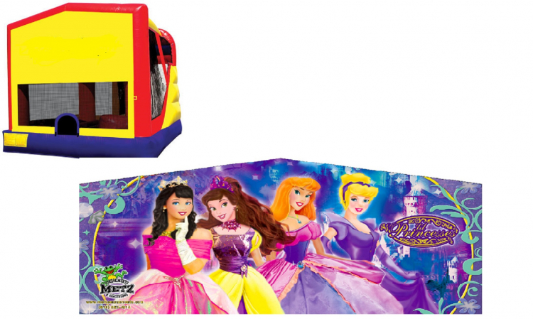 Princesses 4 in 1 Combo