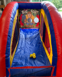 Big Foot Inflatable Game