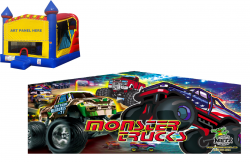 Monster Truck Castle Combo NEW