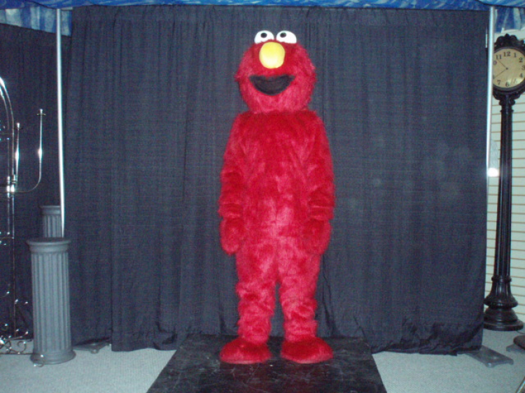 Red Monster Deluxe Costume