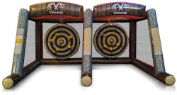 Double Axe Inflatable Game