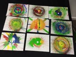 Spin Art - Card