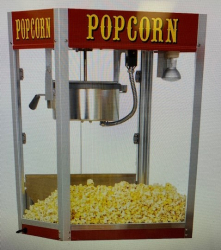Popcorn Machine with Supplies