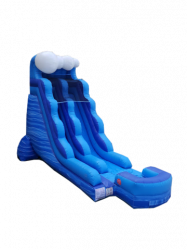 15' Blue Rush Waterslide