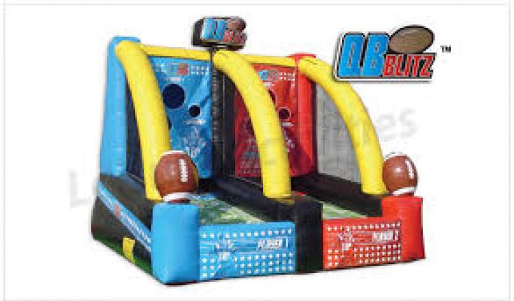 Quarterback Blitz Inflatable