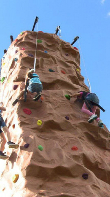 Rockwall Ride 4 Climber