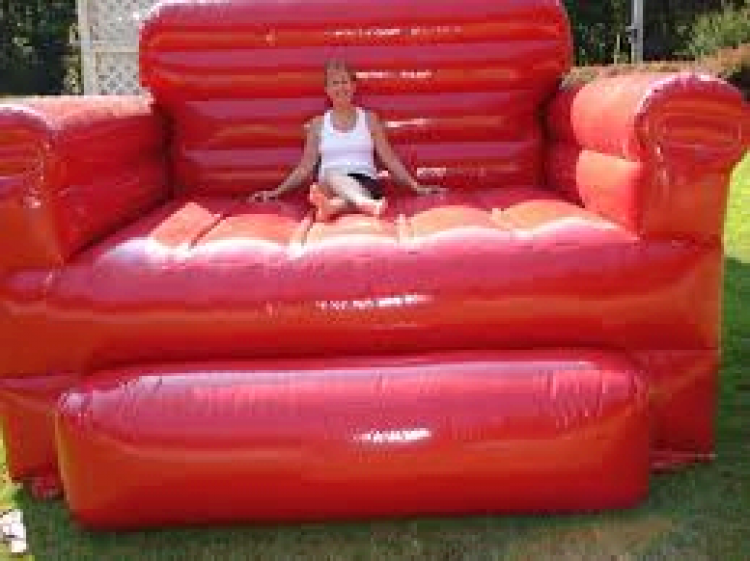 Inflatable Red Chair