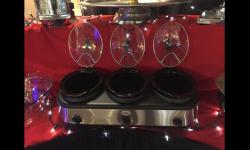 Triple Buffet Server