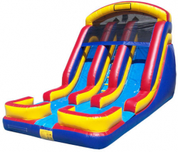 18 Foot Double Lane Slide (Wet or Dry)