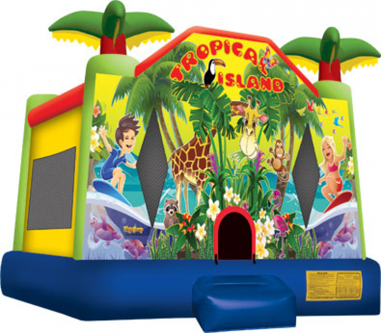 Tropical Bouncer