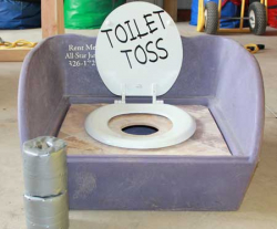 Toilet Bowl Toss