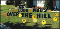 Over The Hill - Insult Faces