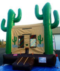 Cactus Jack Bouncer with Basketball Hoop